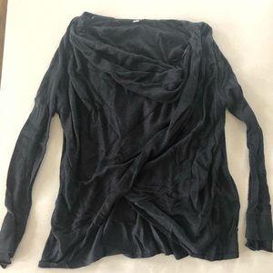 Lululemon Twist Front Sweater- size 8